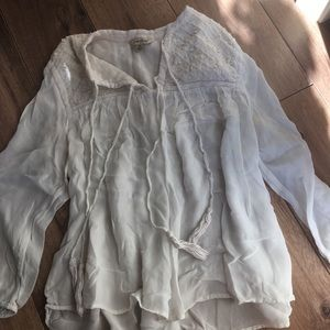 Lucky brand blouse 3 for $15